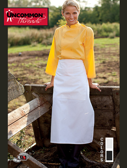 Uncommon Threads 3-SECTION POCKET BISTRO Apron