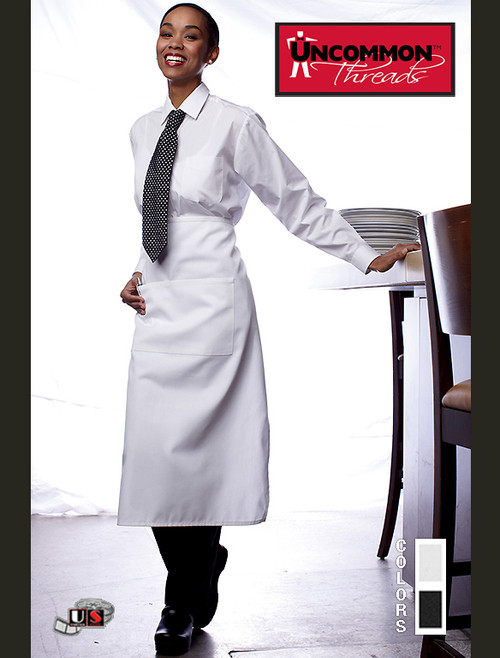 Uncommon Threads 2-SECTION POCKET BISTRO Apron