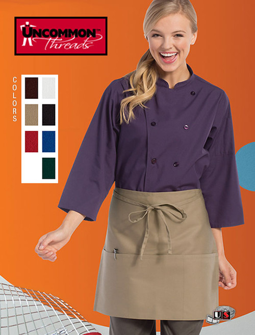 Uncommon Threads HALF-WAIST 3-Pockets Apron