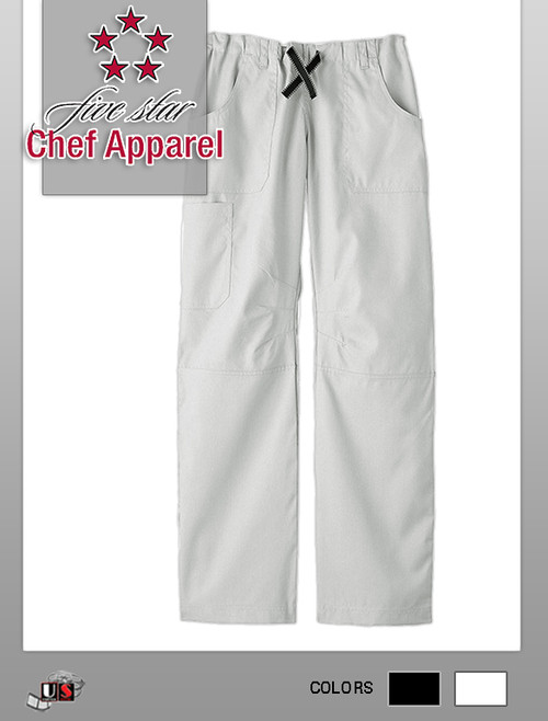 Five Star Chef Apparel Ladies Six Pocket Pant