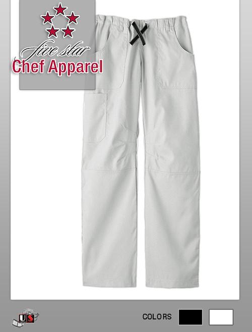 Five Star Chef Apparel Ladies Six Pocket Pant
