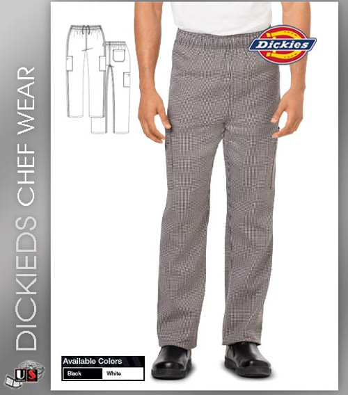 Dickies Chef Unisex 3 Pockets Chef Pant