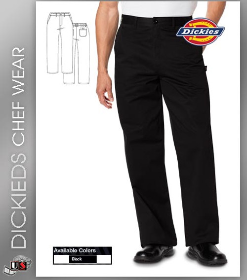 Dickies Chef Men's 4 Pockets Classic Dress Chef Pant