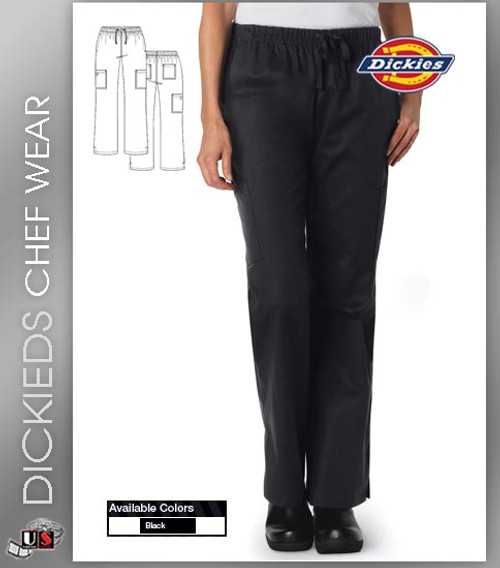Dickies Chef Women's 6 Pockets Chef Pant