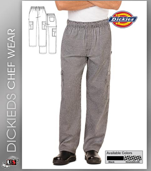 Dickies Chef Men's Cargo 5 Pockets Chef Pant