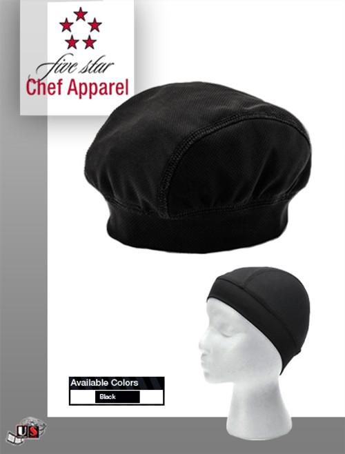Five Star Chef Apparel Mesh Skull Cap