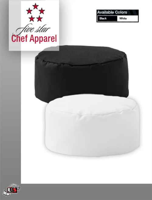 Five Star Chef Apparel Mesh Top Cook Hat No Iron Twill