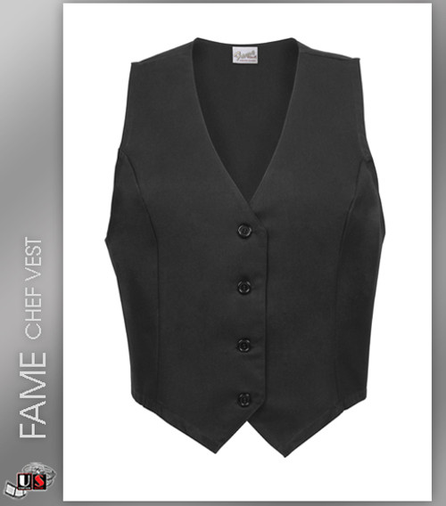 FAME Chef Long Female Fitted Vest