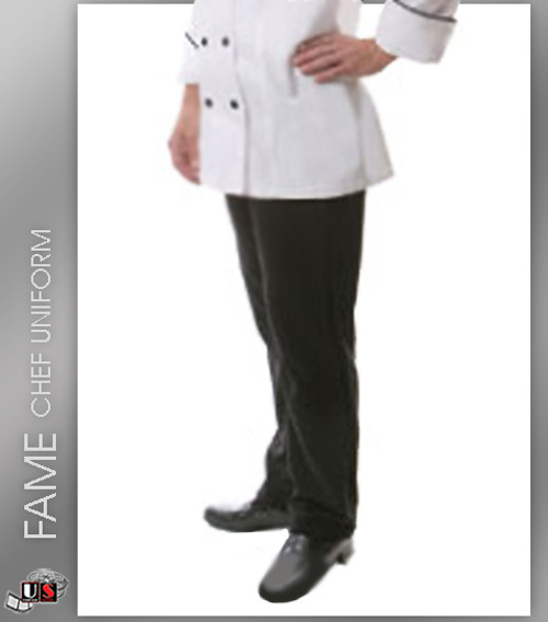 FAME Chef Women's Fitted Pants