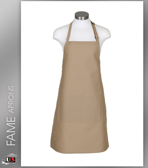 FAME 2 Pocket Butcher Bib Aprons