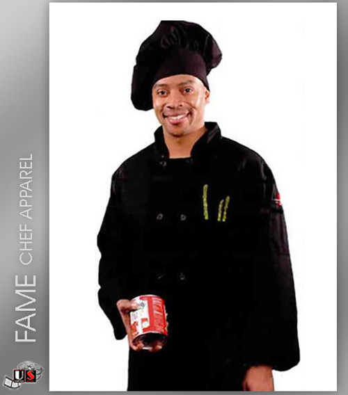 Fame 10 Button Classic Long Sleeve Classic Chef Coat