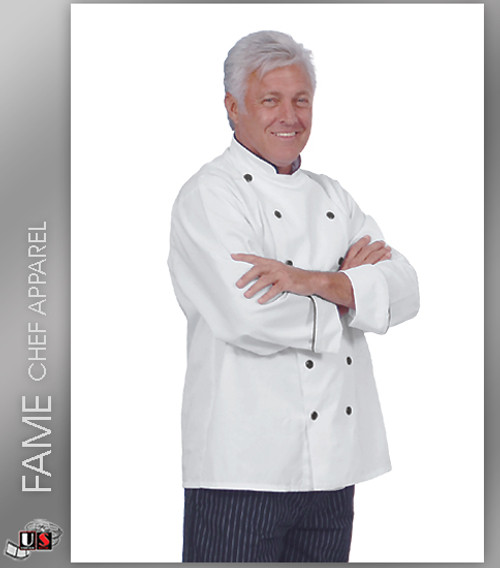 Fame 12 Button Executive Chef Coat
