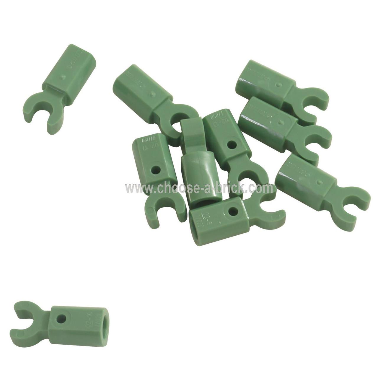 Lego 2 x Halter Arm weiß Bar Holder with Clip White 11090 NEU // NEW