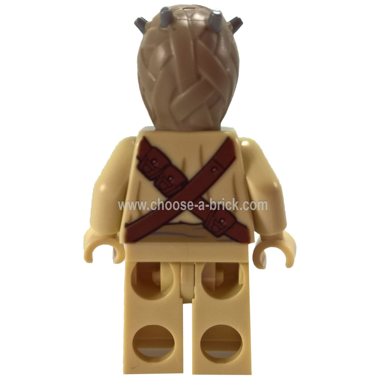 Head Spikes Tusken Raider LEGO Star Wars MiniFigure Set 75081