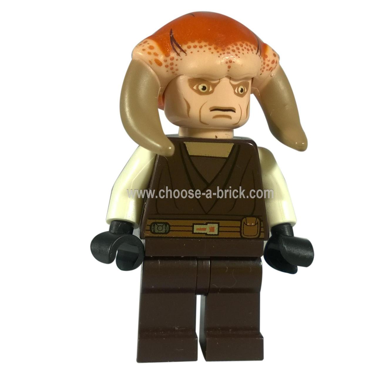 TYPE MINI FIGURINE LEGO  STAR WARS  JEDI  Saesee Tiin