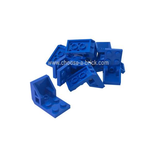 Bracket 3 x 2 - 2 x 2 (Space Seat) blue