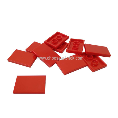 Tile 2 x 3 red