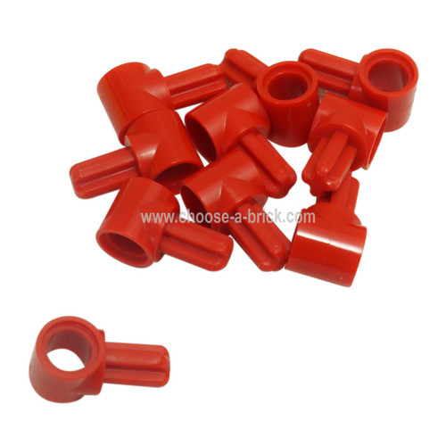 Technic, Axle and Pin Connector Hub with 1 Axle red