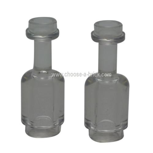 Minifig, Utensil Bottle trans clear