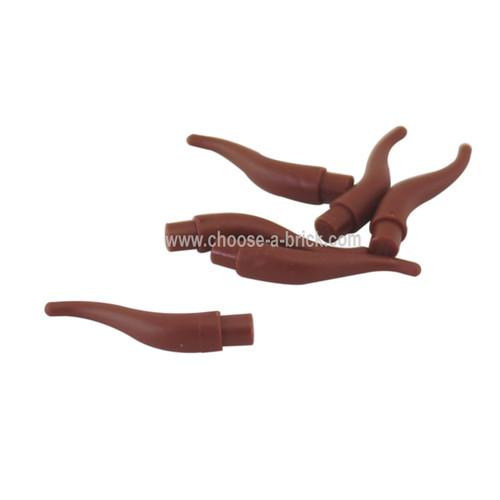 Cattle Horn - Long reddish brown