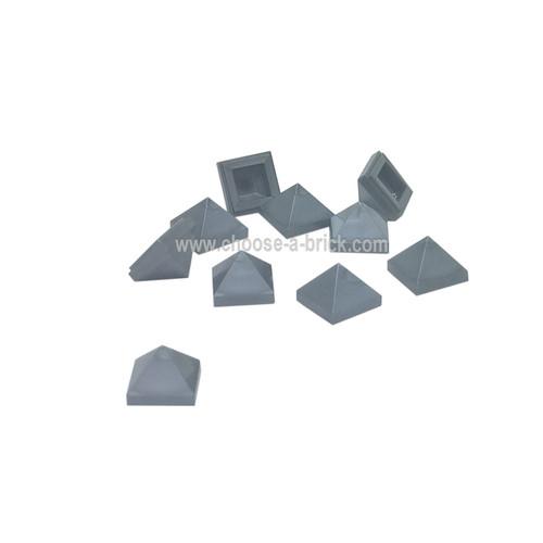 Slope 45 1 x 1 x 2/3 Quadruple Convex flat silver