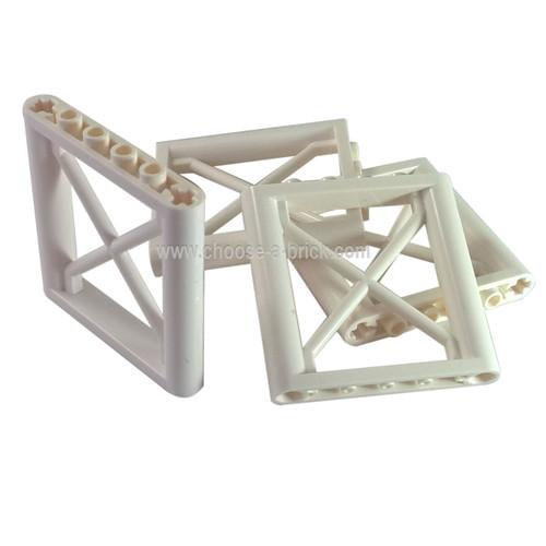 Support 1 x 6 x 5 Girder Rectangular white