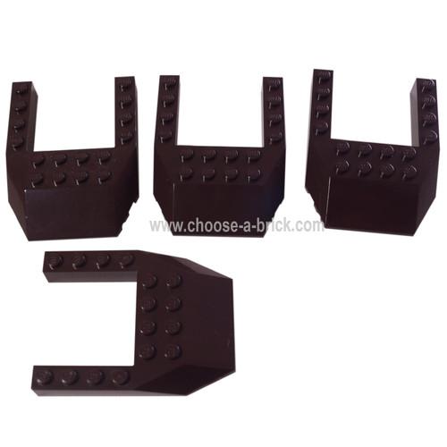 Wedge 6 x 8 Cutout black