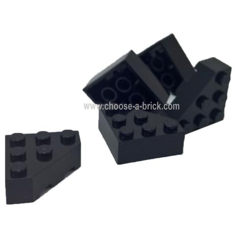 Wedge 3 x 3 Cut Corner black