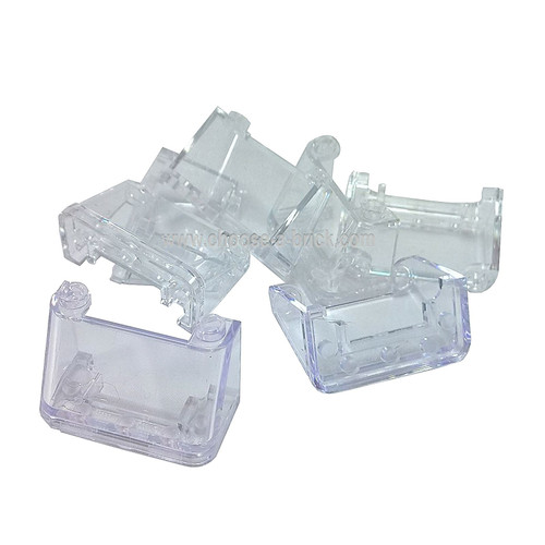 Windscreen 2 x 4 x 2 trans clear  - LEGO Parts and Pieces