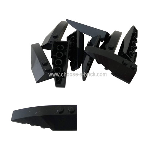 Wedge 6 x 2 Left black