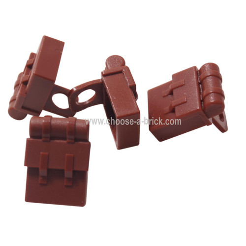 Minifig, Backpack Non-Opening reddish brown