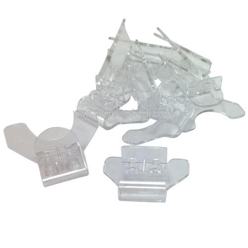 Minifig, Utensil Stand Flexible (Super Jumper) trans clear