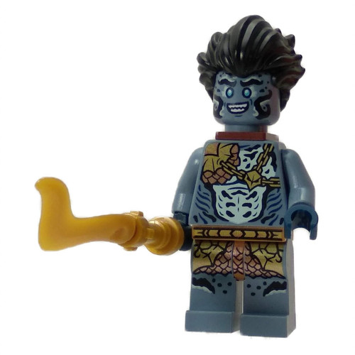 Prince Benthomaar with weapon