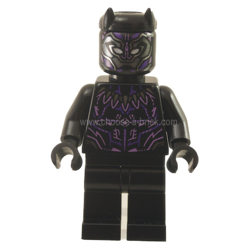 Black Panther, Claw Necklace, Dark Purple and Lavender Highlights