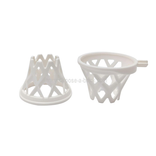 Sports Basketball Net with Axle white