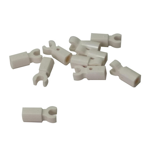 LEGO Parts - Bar with Clip white