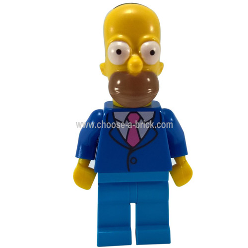Homer with Tie and Jacket -The Simpsons