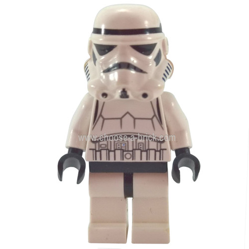 Stormtrooper Detailed Armor, Patterned Head, Dotted Mouth Pattern