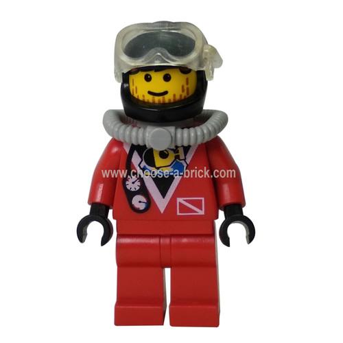 Divers - Red Diver 2, Red Legs, Black Helmet