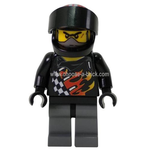 Backyard Blaster 1 (Bart Blaster) - Standard Helmet, Black Visor