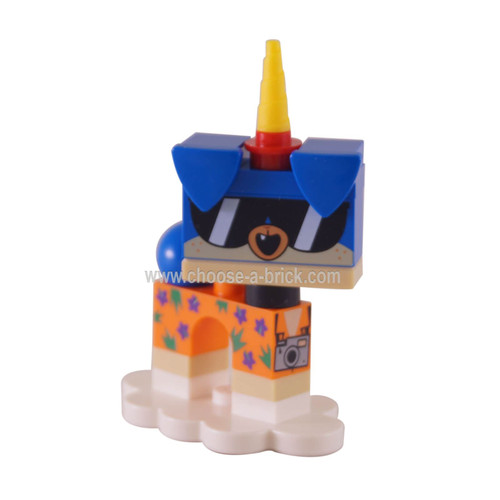 coluni1 Shades Puppycorn, Unikitty!, Series 1 Complete Set with Stand taken out of the bag to verify content. Complete.