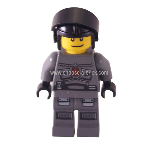 Space Police 3 Officer 6 (5980) - LEGO Minifigure Space