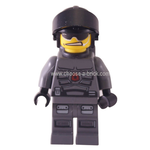 Space Police 3 Officer 10 (5979) - LEGO minifigure Space