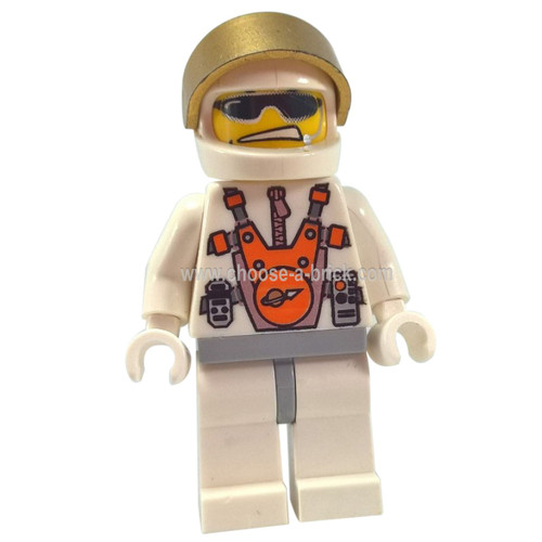 Mars Mission Astronaut with Helmet and Sunglasses, Smirk, and Headset - LEGO Minifigures Space