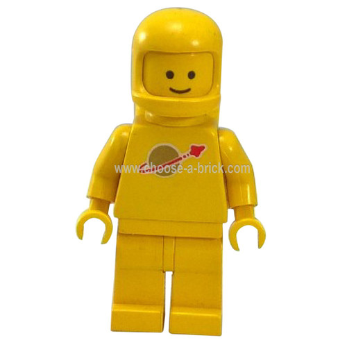 Classic Space - Yellow with Airtanks - LEGO Minifigure Space