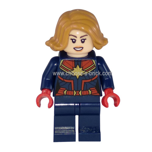 Captain Marvel -  LEGO Minifigure Super Heroes Marvel