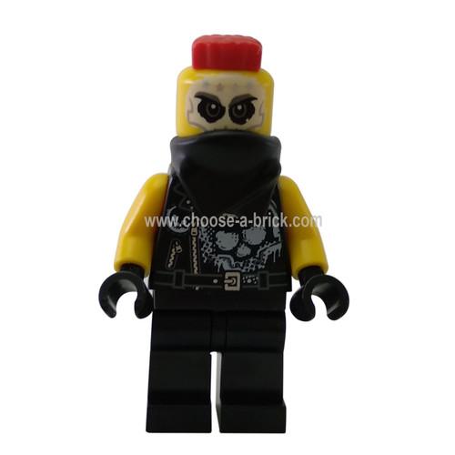 Chopper Maroon - LEGO Minifigure Ninjago