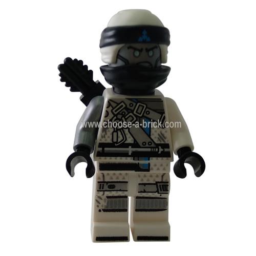 Zane - Hunted - LEGO Minifigure Ninjago