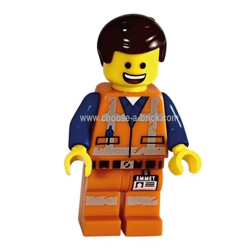 Emmet - Worn Uniform - LEGO Minifigure The Lego Minifigure