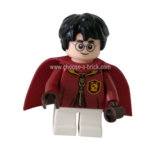 Harry Potter, Quidditch Uniform - LEGO Minifigure Harry Potter